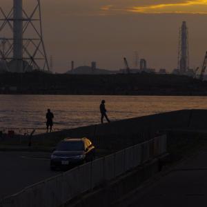 早朝の姫路港にて(2020/10/3)其の③