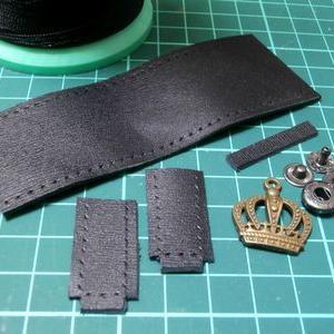 簡単かっちりミニチュアバッグ制作過程