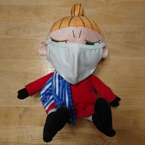 こっちにも政府配給マスクが届いたよ!