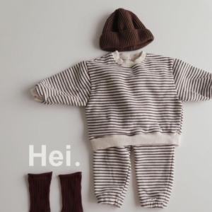 韓国子供服 冬物 HI スウェットセット