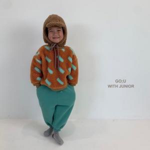韓国子供服 冬服 GU もこもこ風