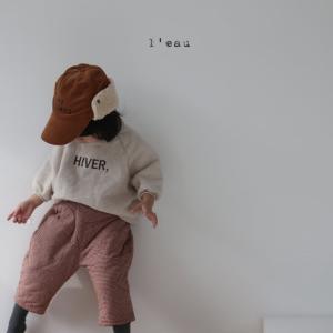 韓国子供服 冬服 le キルティングパンツ