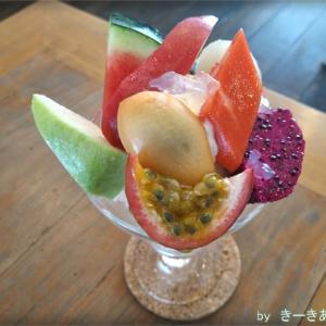 プロンポンのカフェ【PARDEN(パーデン)】でフルーツパフェを食べてきた!