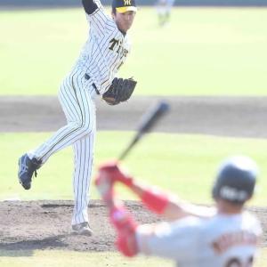 阪神・藤浪が3試合連続無失点 最速158キロ直球軸に三者凡退
