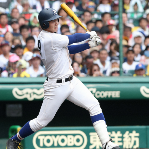 阪神、履正社の4番・井上広大を2位指名 今夏甲子園決勝で奥川から3ラン