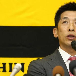 阪神・矢野監督、オーナー報告で来季打倒巨人誓い マルテ&新助っ人「W大砲」構想