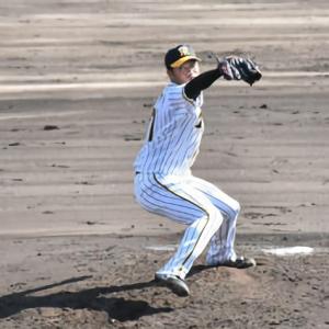 阪神育成の石井、2回0封も平田2軍監督は辛口採点 自己最速150キロ計測
