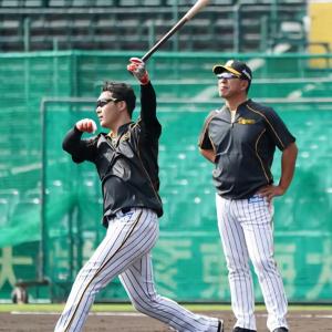阪神・井上新コーチ、大山に期待「パワーずばぬけている」