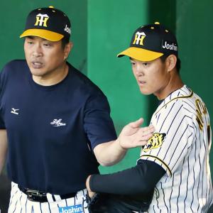 阪神望月「違い感じる」山本昌コーチの指導に手応え