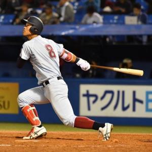 阪神来秋1位に「糸井2世」近大・佐藤リストアップ 球団関係者「順調なら1位で競合する可能性がある。飛距離はプロに入ってもトップレベル」