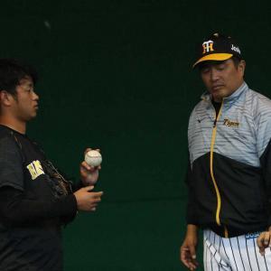 """阪神・高橋遥人 """"新魔球""""に手ごたえ!4投手コーチも「おー!いいじゃないか」"""