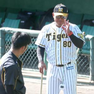 阪神北川コーチに期待 ドラフト2位井上のスラッガー育成