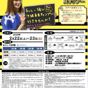 渡部優衣さんと行く阪神タイガース沖縄キャンプ見学ツアーの募集が決定