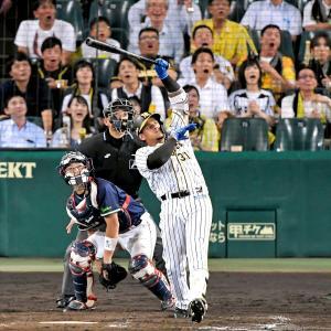 阪神、ジェフリー・マルテ(28)と来季の選手契約締結を発表 今季は105試合 打率.284、12本塁打49打点