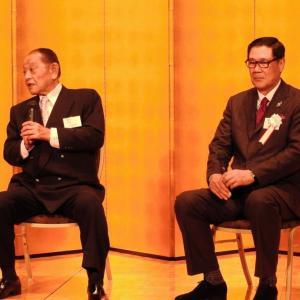 江夏豊氏、田淵幸一氏とのトークショーで柔和な笑み 阪神時代にバッテリー