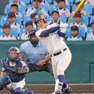 阪神ドラフト2位 井上広大「1年目は一軍で本塁打10本、2年目は20本打つ」「最終的にはシーズン60本打ちたい」