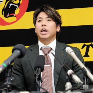 阪神・梅野隆太郎捕手 球団捕手最速で大台1億円到達 一気に倍増「球団の方にも評価して頂いた」
