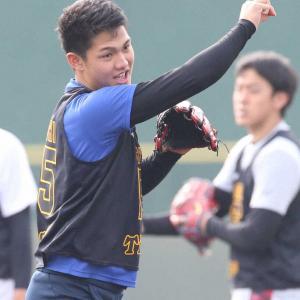 阪神ドラフト1位西純矢 メンタルトレ講義で納得「目標を持った人は…」