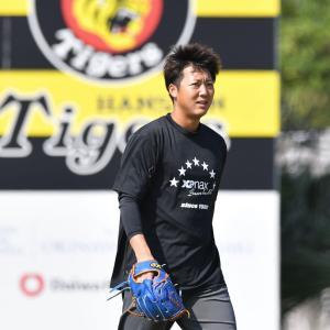 阪神・横山が26歳の誓い「今年はまず3勝。達成できたら、また(次の)目標を立てたい」