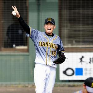 阪神 開幕投手の西勇が2回3安打1失点 持ち味もしっかり発揮