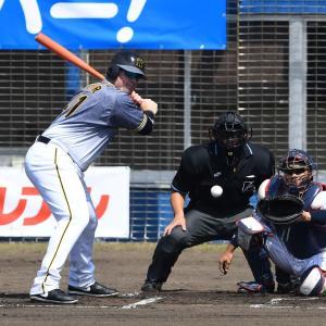 阪神ボーア&サンズの新助っ人コンビ、2人で4打数無安打3三振