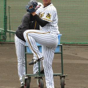 阪神ドラ1・西純矢 プロ初打撃投手で圧巻41球 井上ビックリ「高校生とは思えない」