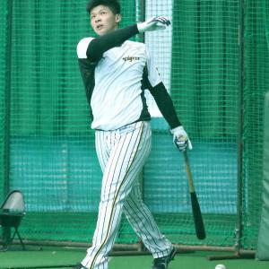 阪神ドラ2・井上 矢野監督の期待に決意「早く1軍に呼んでもらえるように」