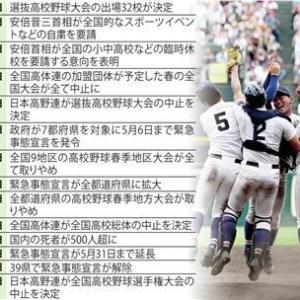 高校野球 日本高野連が1億9千万円の財政支援へ 代替試合開催に向け各都道府県連盟に