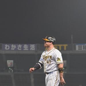 阪神・ボーア、4戦連発ならず 3打数無安打で交代