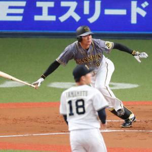 阪神・福留 開幕5番濃厚 43歳勝負強さ健在 オリ由伸撃ち適時二塁打