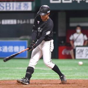 ロッテ・鳥谷敬さん、初打席は空振り三振