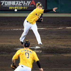 阪神 八回に守乱で4失点…馬場、木浪が痛いエラー