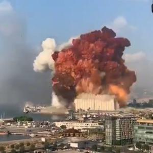 レバノンの首都・ベイルートで大爆発 原因不明(動画あり)