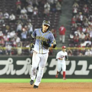 阪神は4番・大山が5タコとブレーキ 直近6試合で24打数3安打
