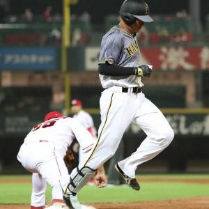 阪神 7回に明暗…1死満塁も代打福留が痛恨の併殺 直後に藤川が勝ち越し許す