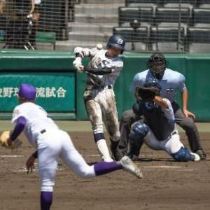 【高校野球】甲子園交流試合、広島新庄4―2天理 広島新庄が競り勝つ