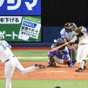 阪神熊谷2シーズンぶり適時打 8回守備から出場