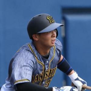 阪神井上、19歳誕生日に先制打 打点単独1位浮上