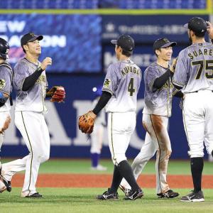阪神 必死の継投で3位浮上…矢野監督「9連戦、苦しかった」