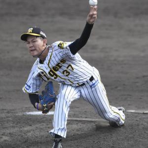 阪神及川が実戦復帰「内容を見ていくとまだまだだなと思います」1回0封も厳し採点