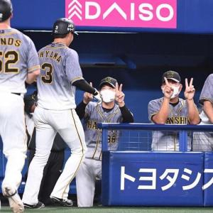 阪神・矢野監督 2打席連発の大山に「今日は本当に申し分ないバッティング」
