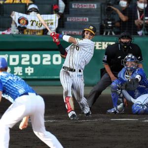 阪神木浪「攻める気持ちを持って積極的に打ちにいきました。」貴重な5点目たたき出す