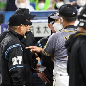 阪神矢野監督が声荒らげ激怒!審判団と口論に発展