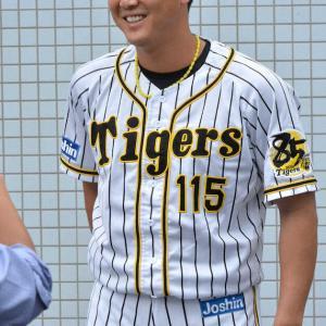阪神・横山 左肩手術から2年ぶり支配下復帰 「これからが勝負」 14年ドラフト1位左腕が再出発