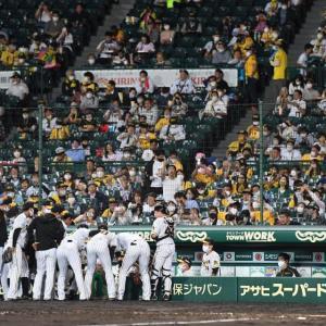 阪神人気に陰り!?観客2万人に緩和も入場者数は1万人満たず8091人