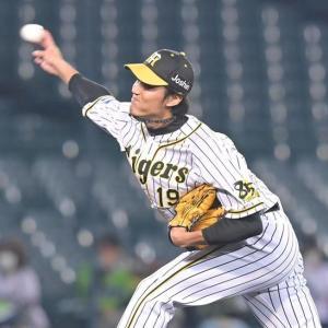 阪神・藤浪晋太郎 162キロは「いいボールだったと思います」表示の瞬間は気付かず