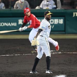 阪神・ガルシア 1カ月ぶり先発も今季最短3回KO 打球も直撃して4失点