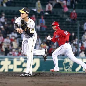 阪神小幡が好守連発「強肩が一番の武器」矢野監督