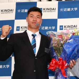 阪神・谷本球団副社長はドラフトを終えて「今年は即戦力重視」
