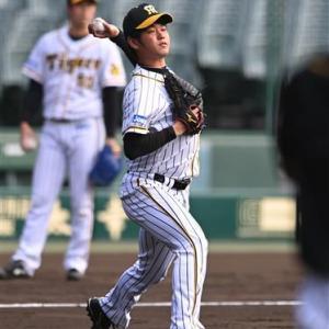 原点回帰!阪神・高橋遥人、もう一度直球を磨く 日本SのソフトB投手陣から刺激